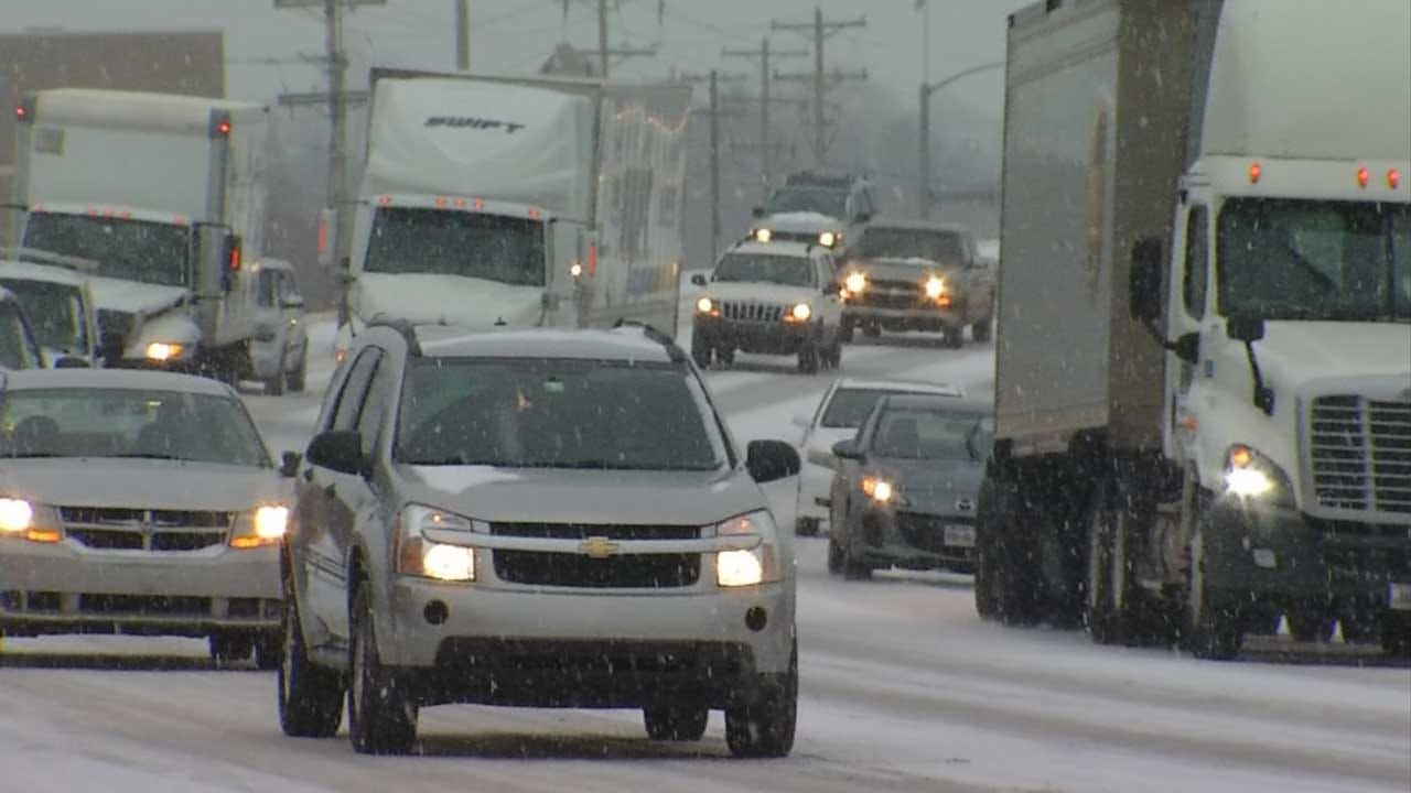 Crews In Cleveland County Prepare For Winter Road Conditions