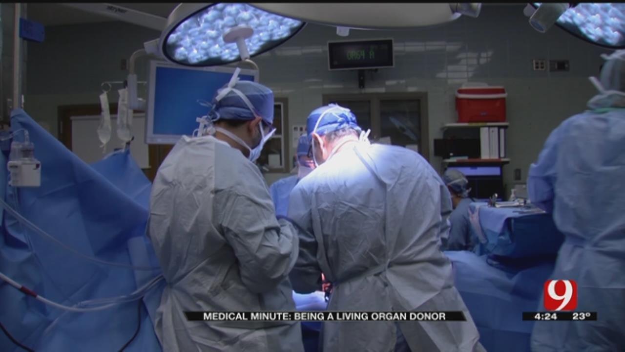 Medical Minute: Living Organ Donor