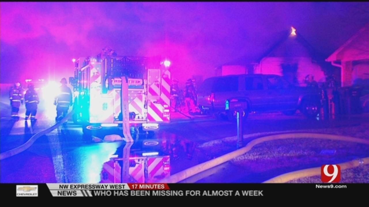 Cause Of OKC Overnight House Fire Under Investigation