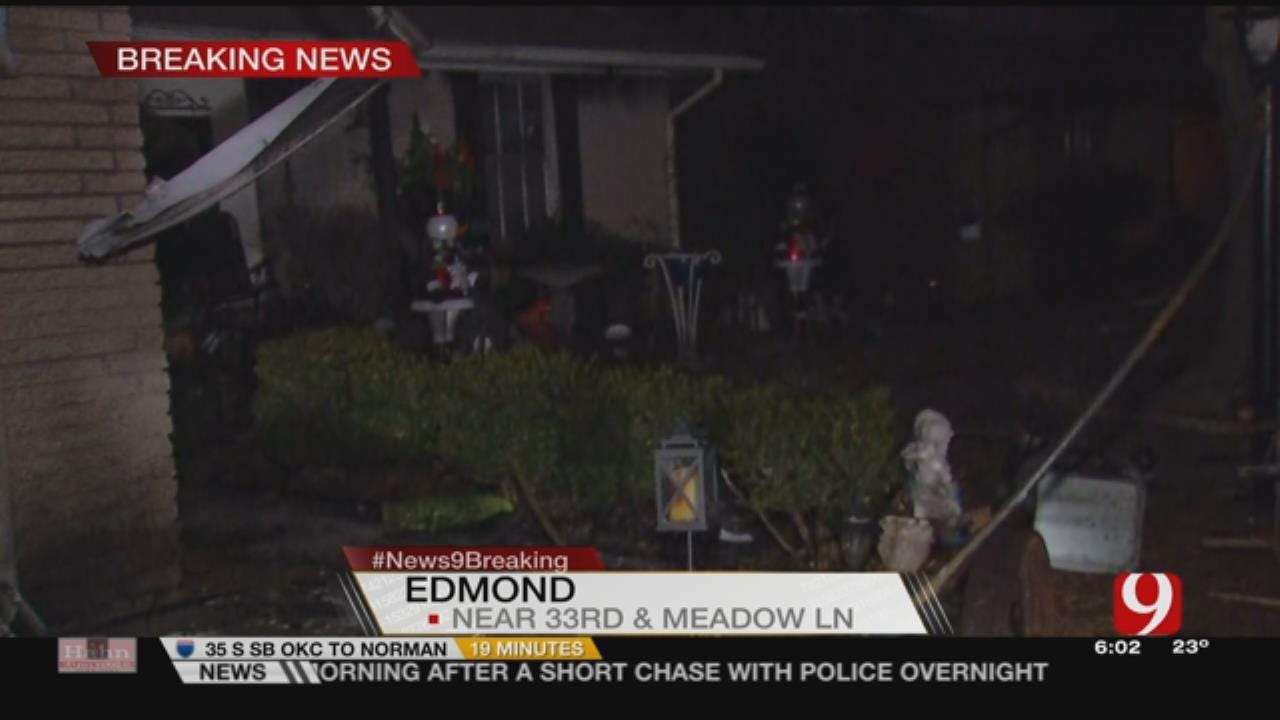 2 Dogs Killed In Overnight Edmond House Fire