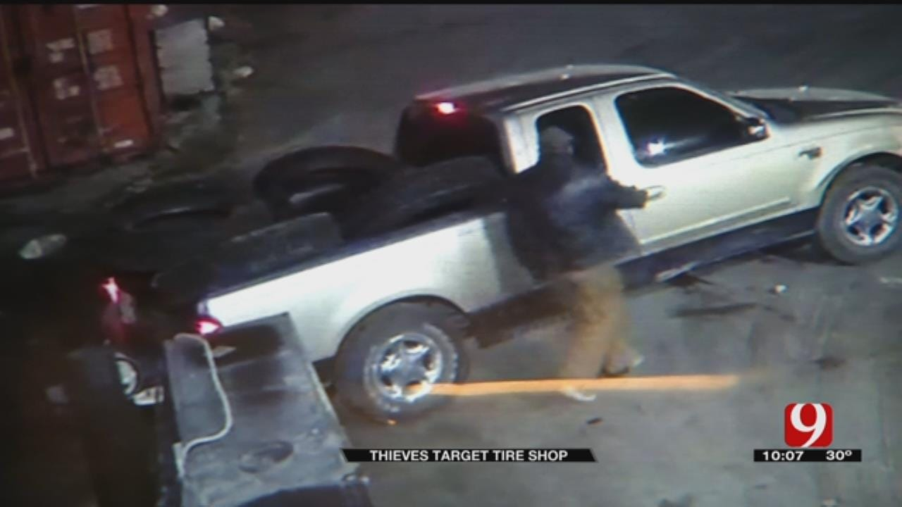 Thieves Steal Thousands Of Dollars-Worth Of Tires From OKC Shop