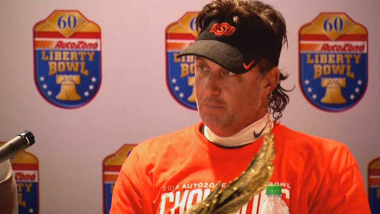 Gundy Reacts To Reported Departure Of Offensive Coordinator