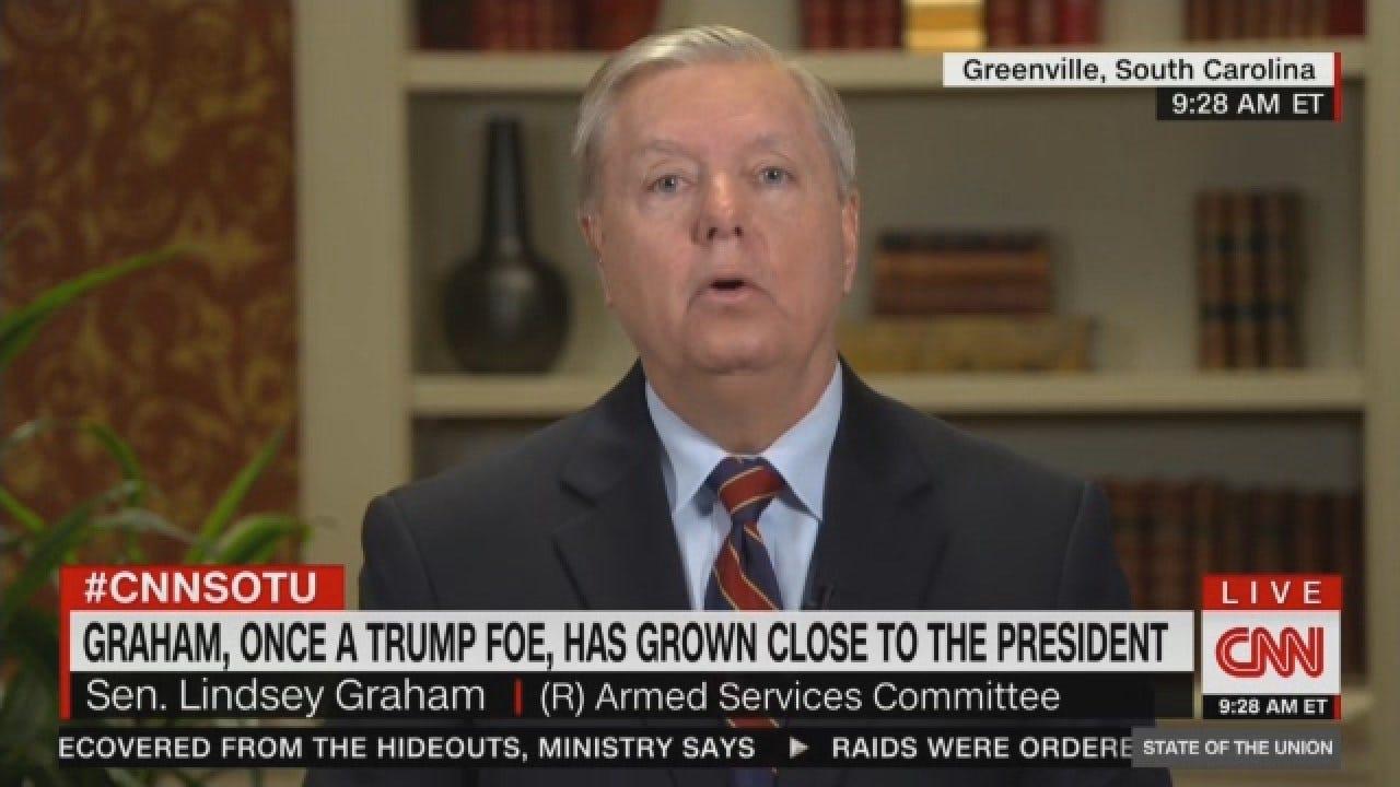 Sen. Graham On Government Shutdown, US Border, Syria