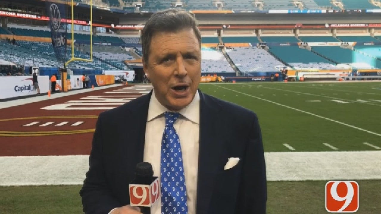 Dean Gives A Pre-Game Preview To The Orange Bowl