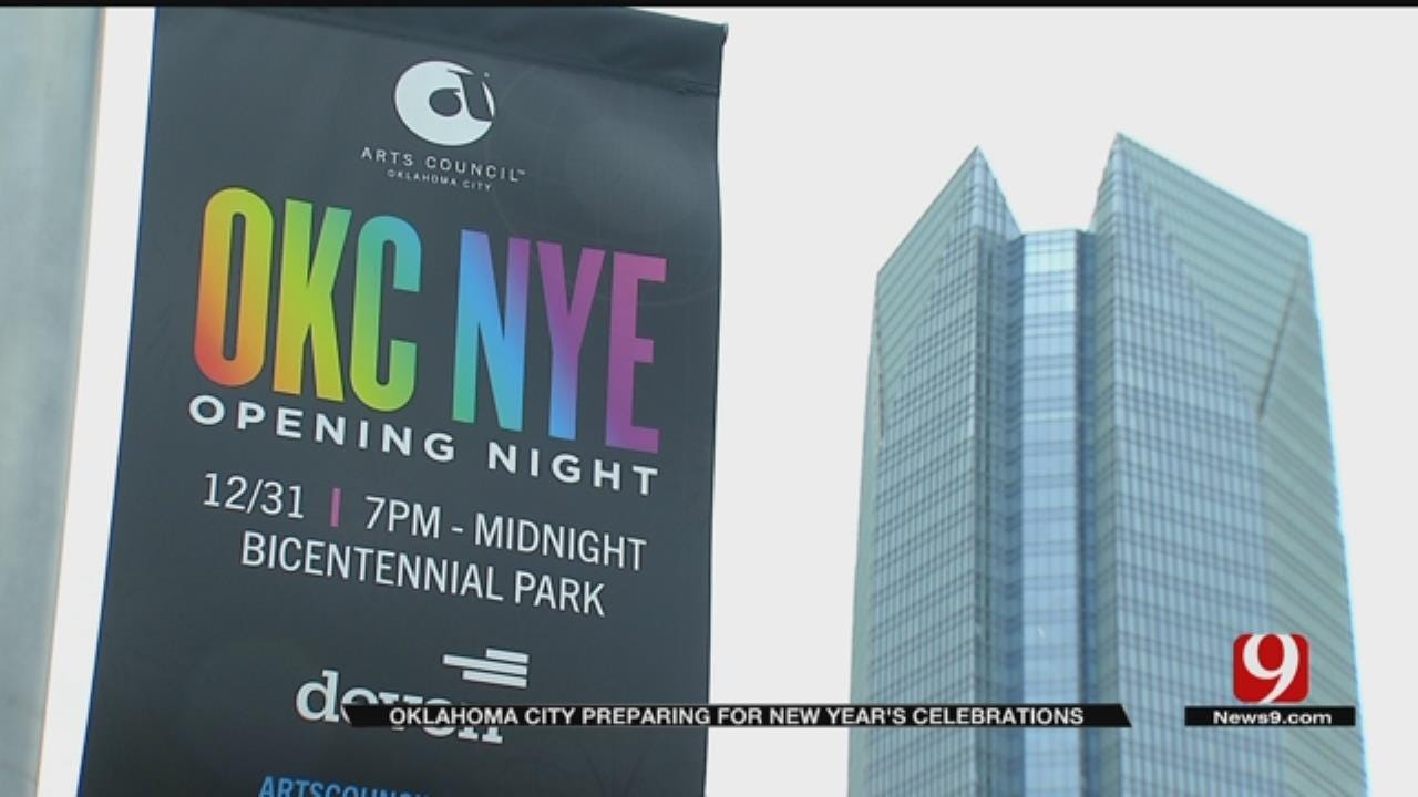 OKC Preparing For New Year's Eve Celebration