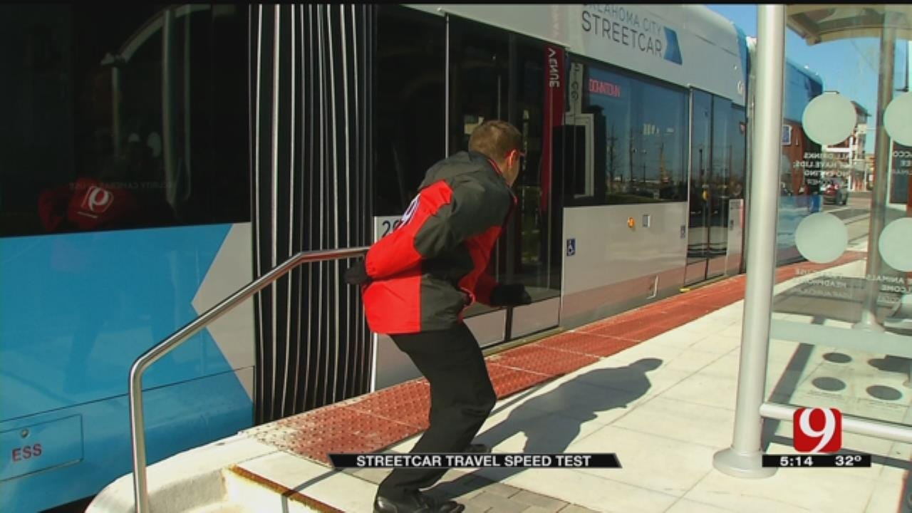 OKC Streetcar Vs. On Foot, Which Is Faster?