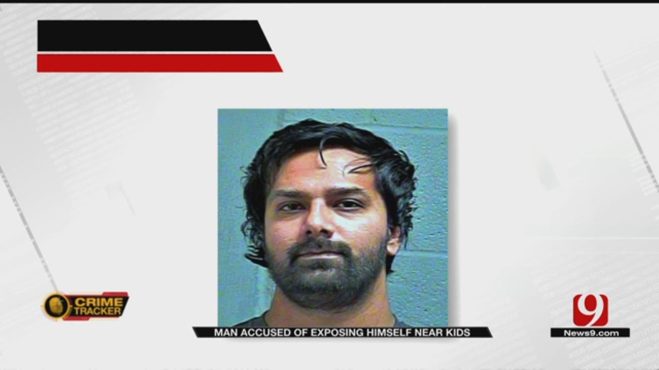 Witnesses Confront Man Exposing Himself At OKC Shopping Center