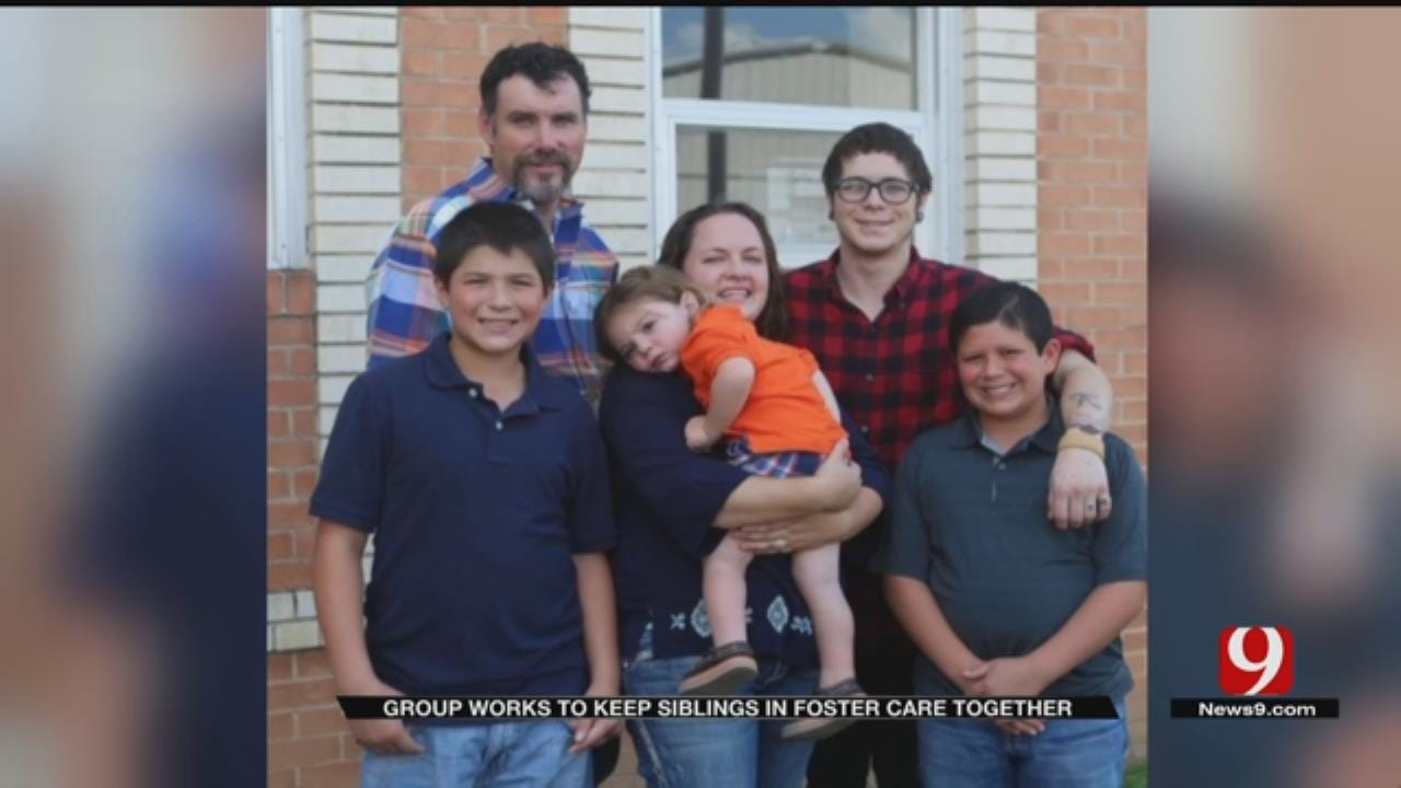 Group Works To Keep Siblings In Oklahoma Foster Care System Together