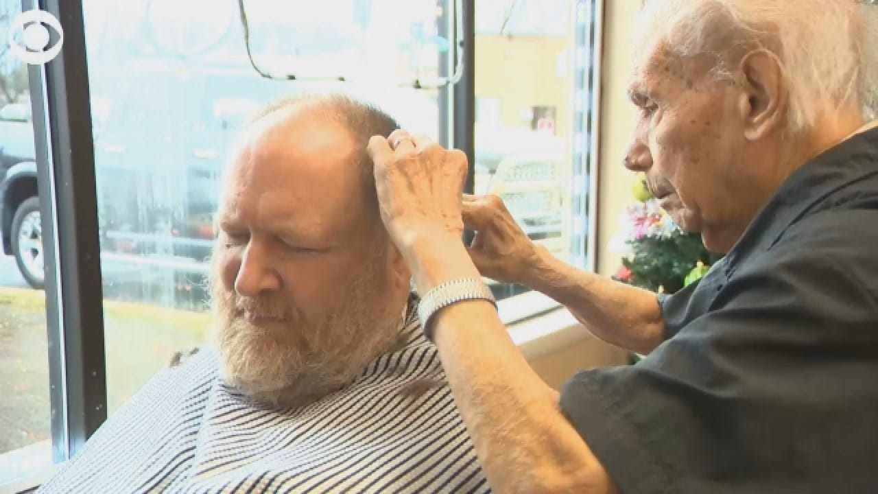 Meet The Oldest Working Barber In The World