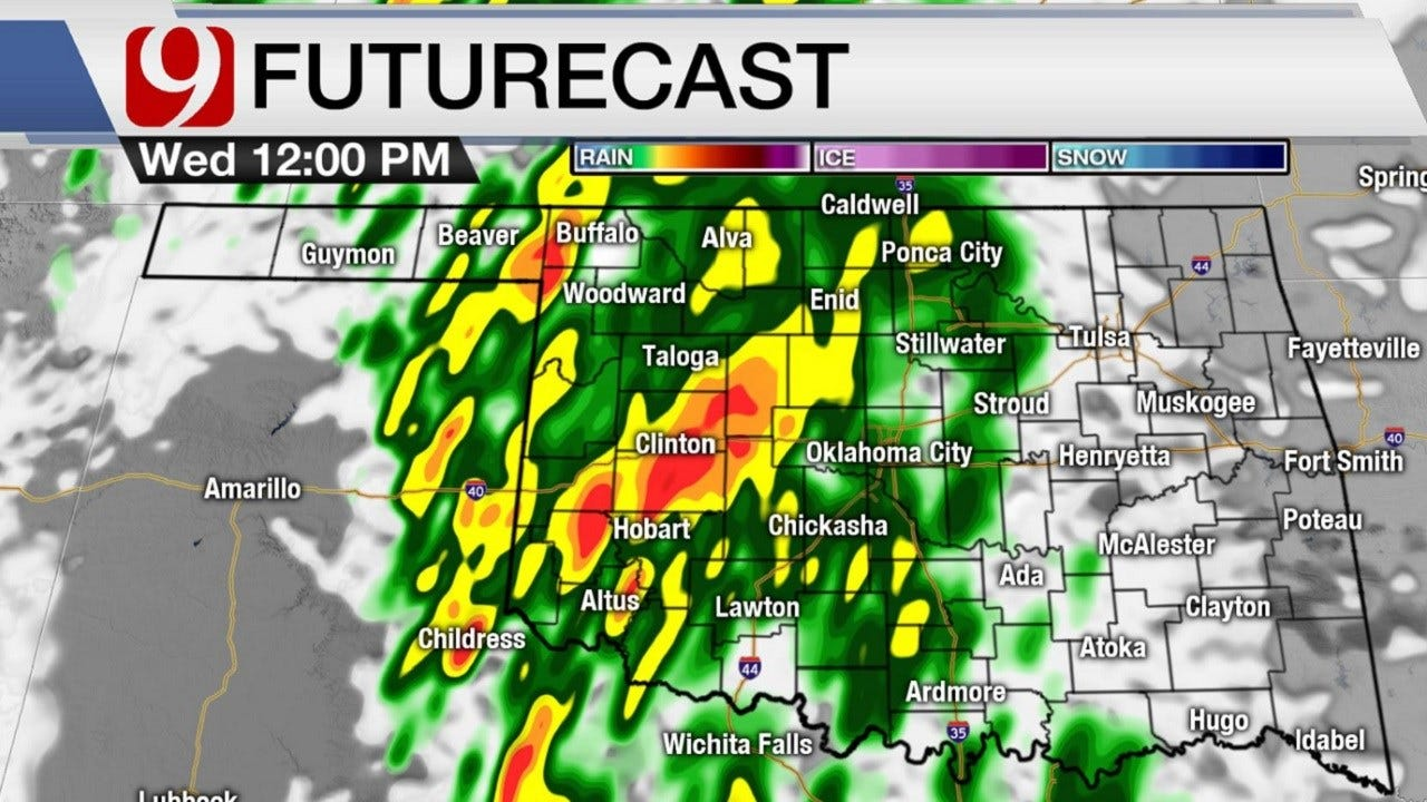 Wednesday Out The Door Forecast For December 26, 2018