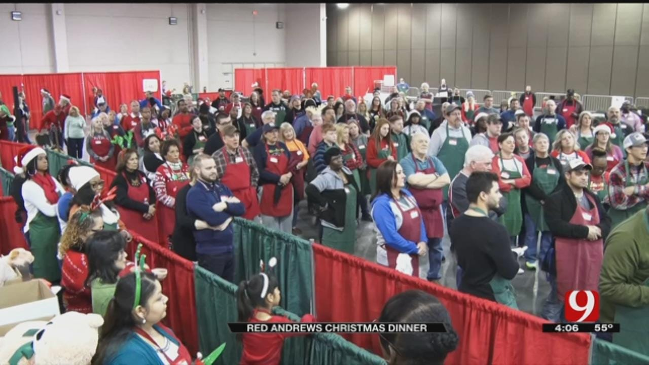 Thousands Served At Annual Red Andrews Christmas Dinner