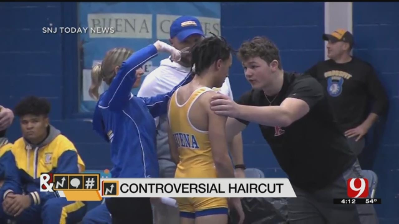 Trends, Topics & Tags: High School Wrestler Ordered To Cut Hair Before Match