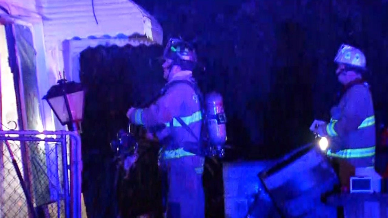 Crews Investigating Cause Of Garage Fire In SW OKC