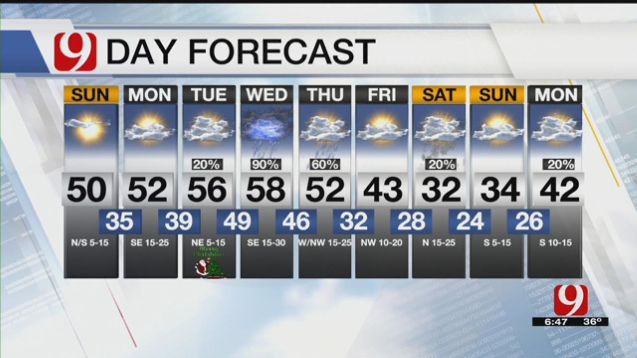 Sunday Morning Forecast With Lacey Swope