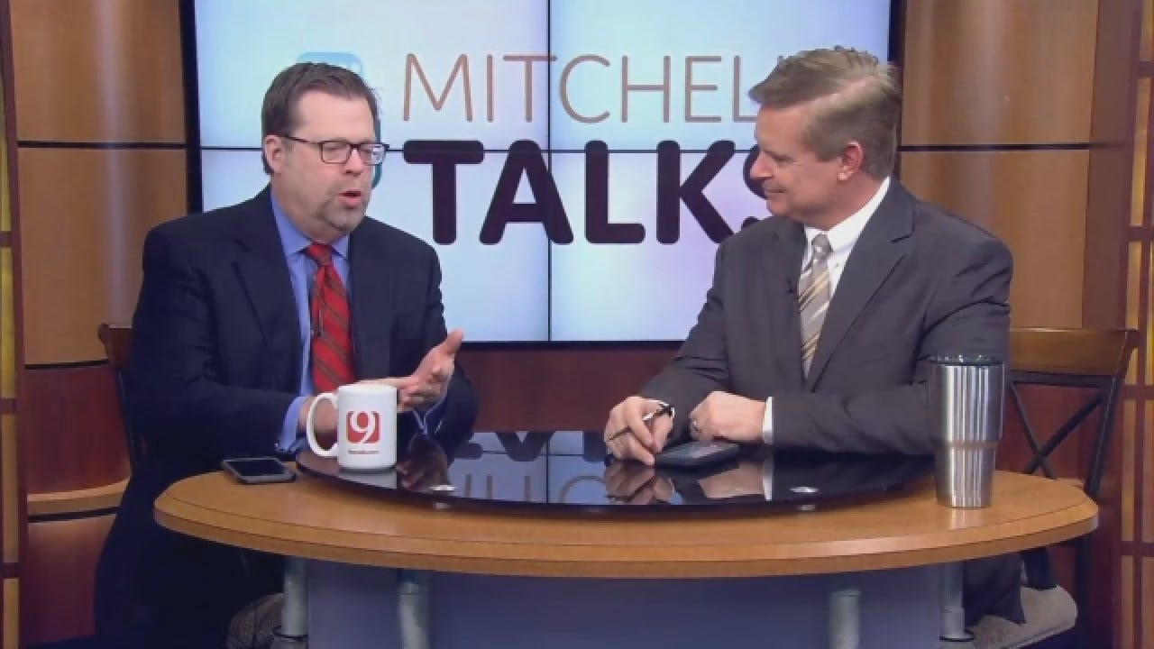 Mitchell Talks: The Governor Elect Flexes His Muscles