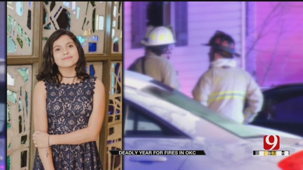 OKCFD Reports High Number Of Fire Deaths, Most Recent Includes 15-Year-Old Girl