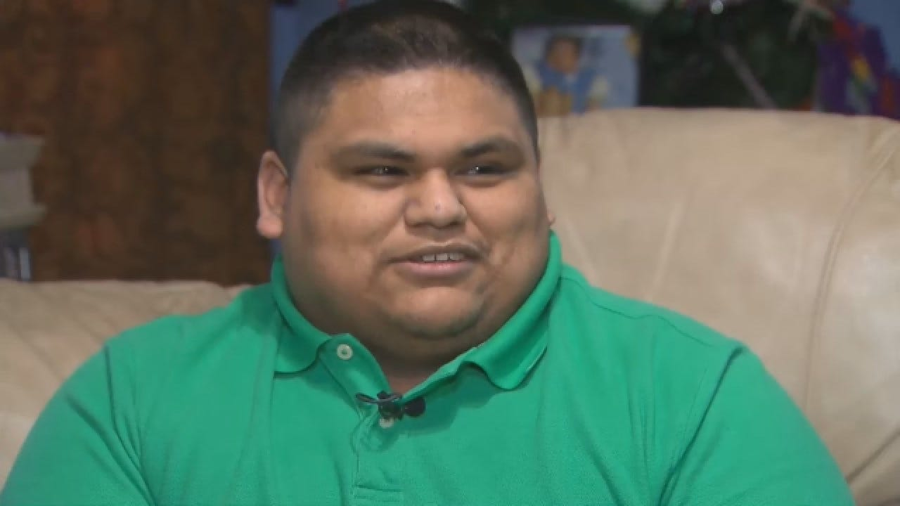 Teen Cashier Saving For College Paid Customer's Grocery Bill