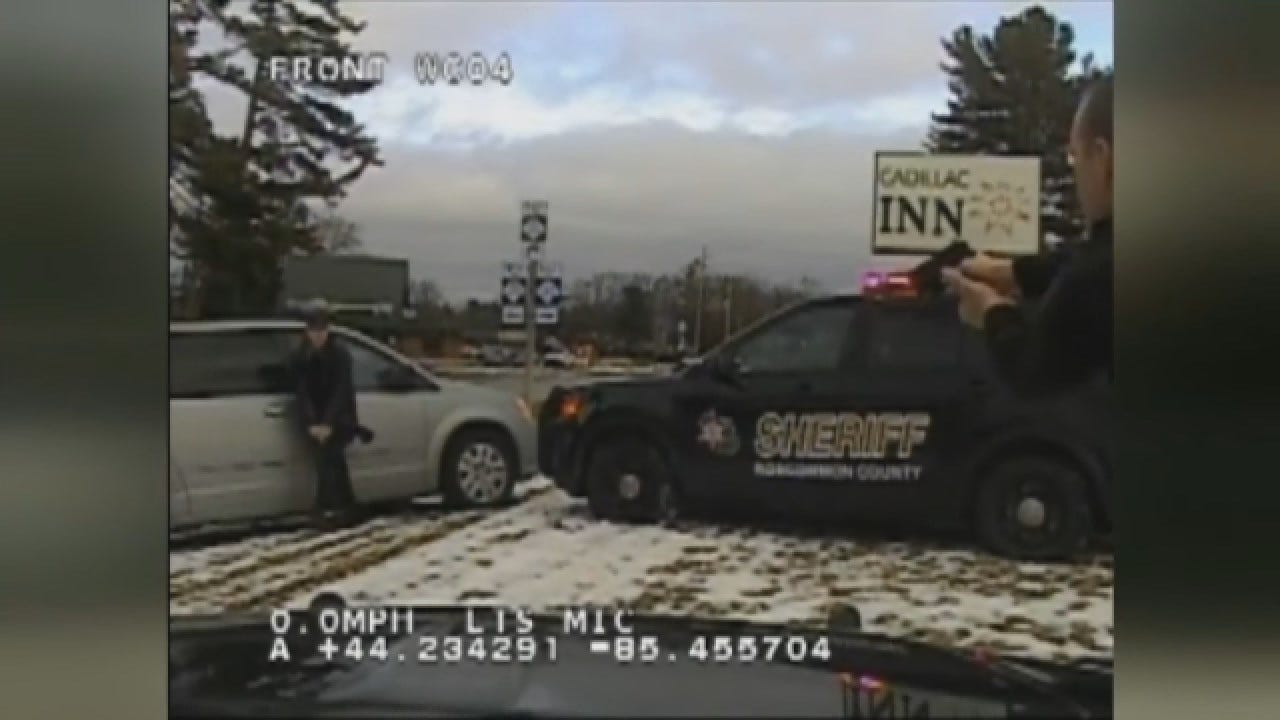 Wild Chase Ends With Suspect Nearly Run Over