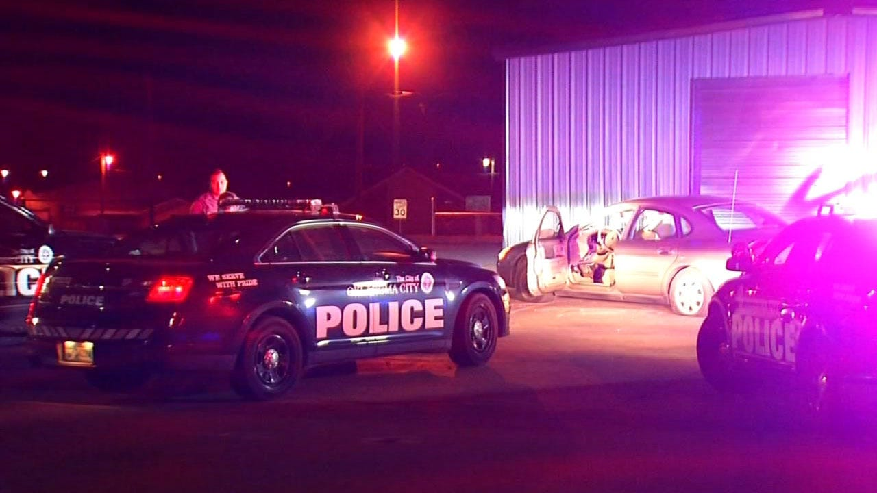 2 Car Theft Suspects Arrested After Chase In SW OKC