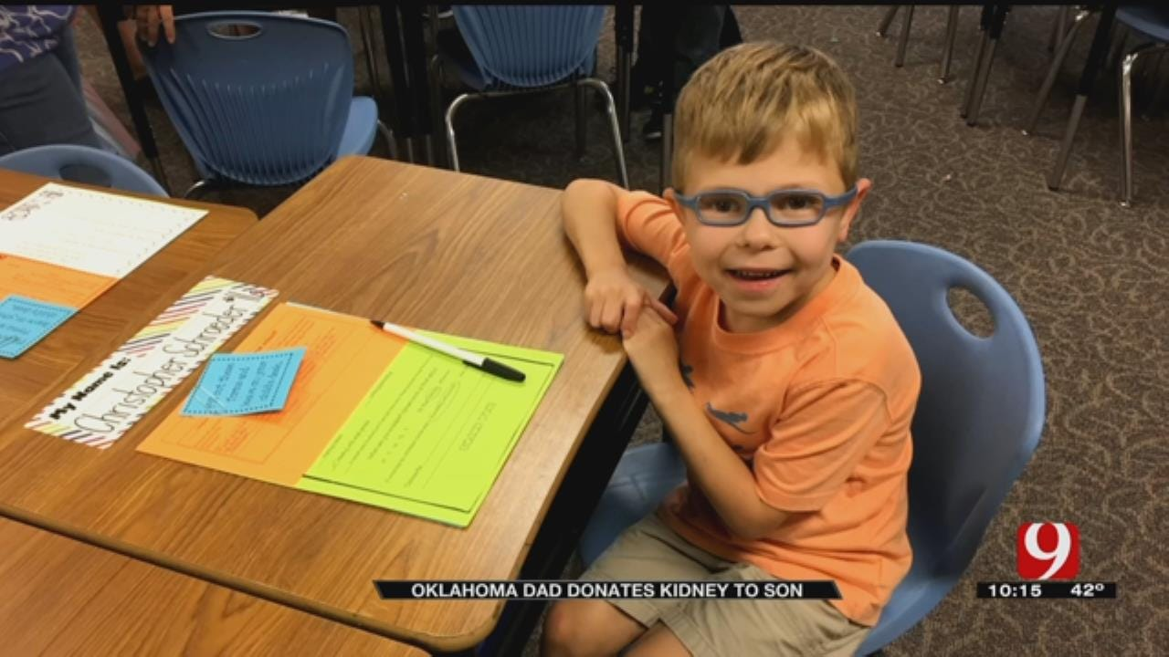 Oklahoma Father Gives Gift of Life To Young Son