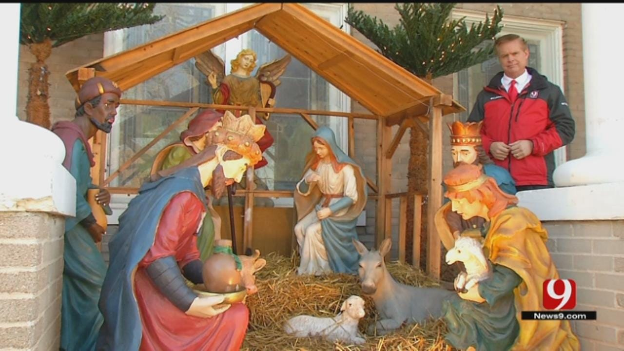Baby Jesus Statue Stolen From Pauls Valley Church Nativity Scene