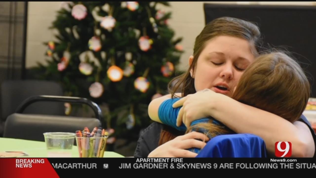 Mothers In Cleveland County Jail Embrace Their Children Ahead Of Christmas