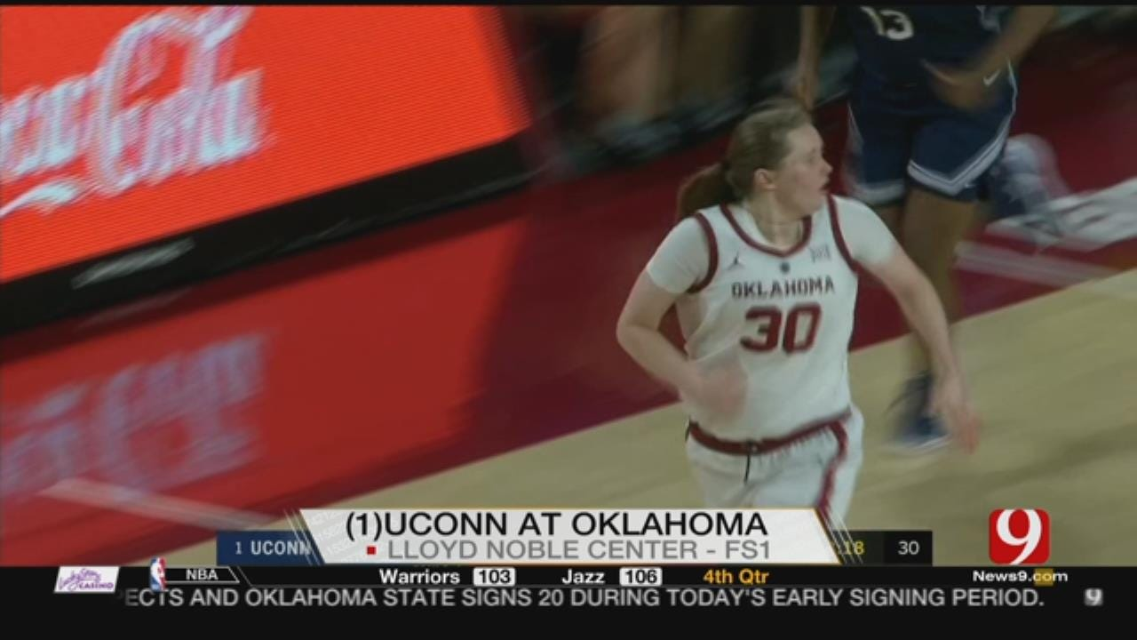 OU Led No. 1 UConn At Halftime For First Time In 12 Meetings