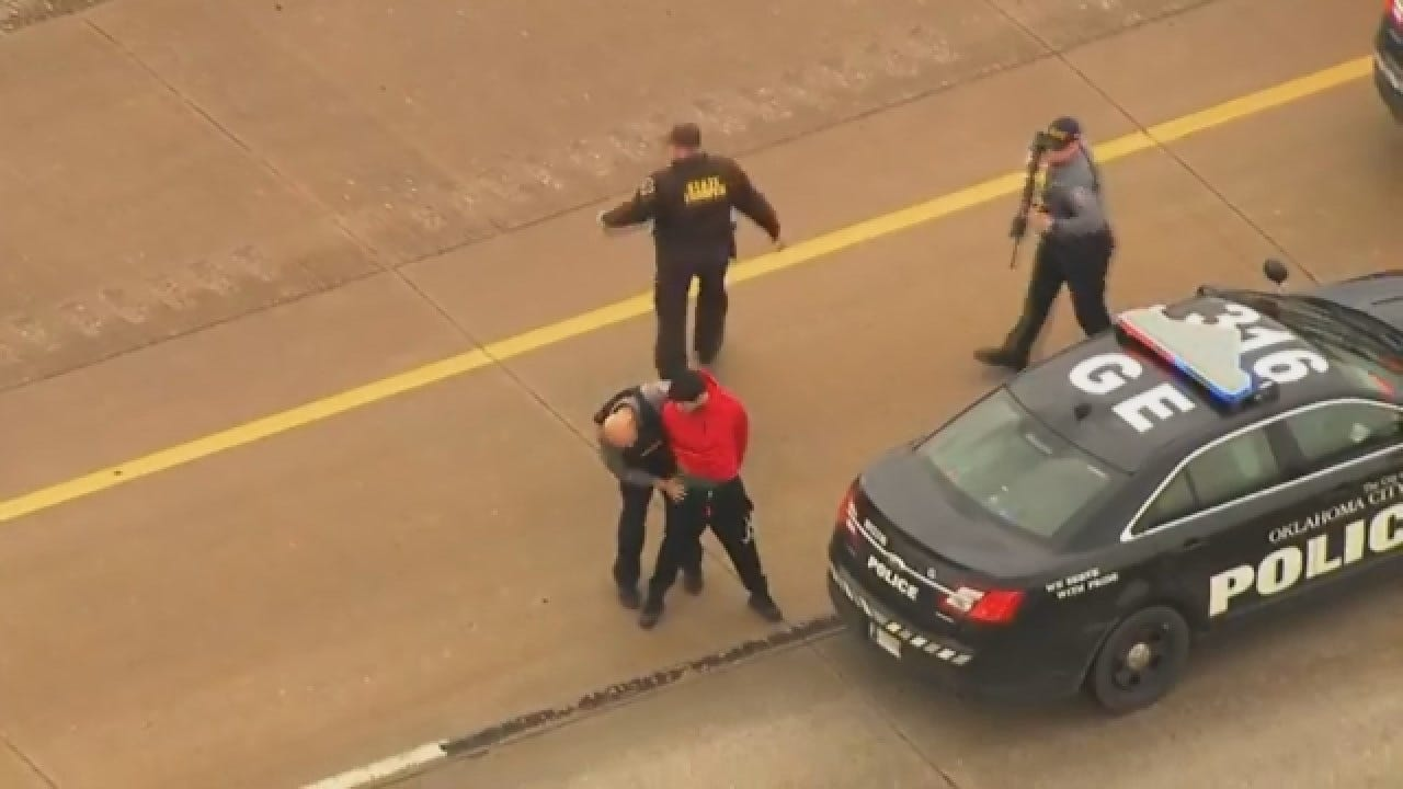 WATCH: Bob Mills Sky News 9 Flies Over Yukon Pursuit Arrest
