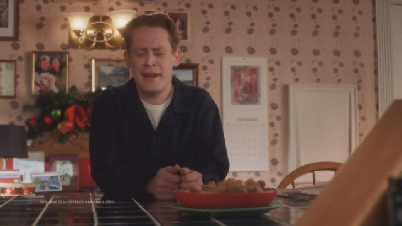 WATCH: Macauly Culkin Is 'Home Alone' Again In New Ad