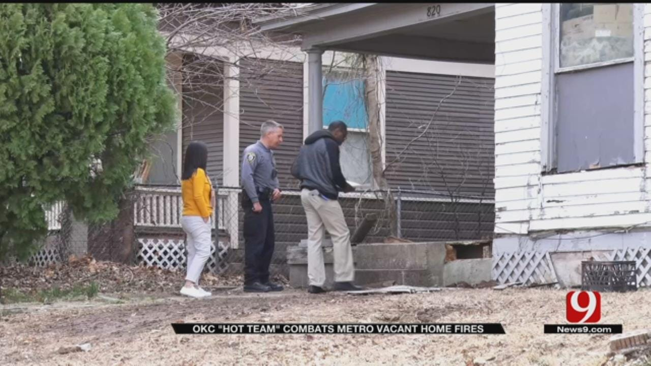 OKC 'Hot' Team Combats Metro Vacant House Fires And Helps The Homeless