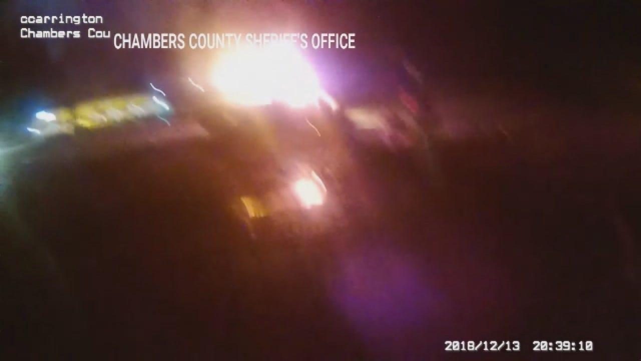 Watch: Texas Deputies Pull Injured Driver From Burning Car