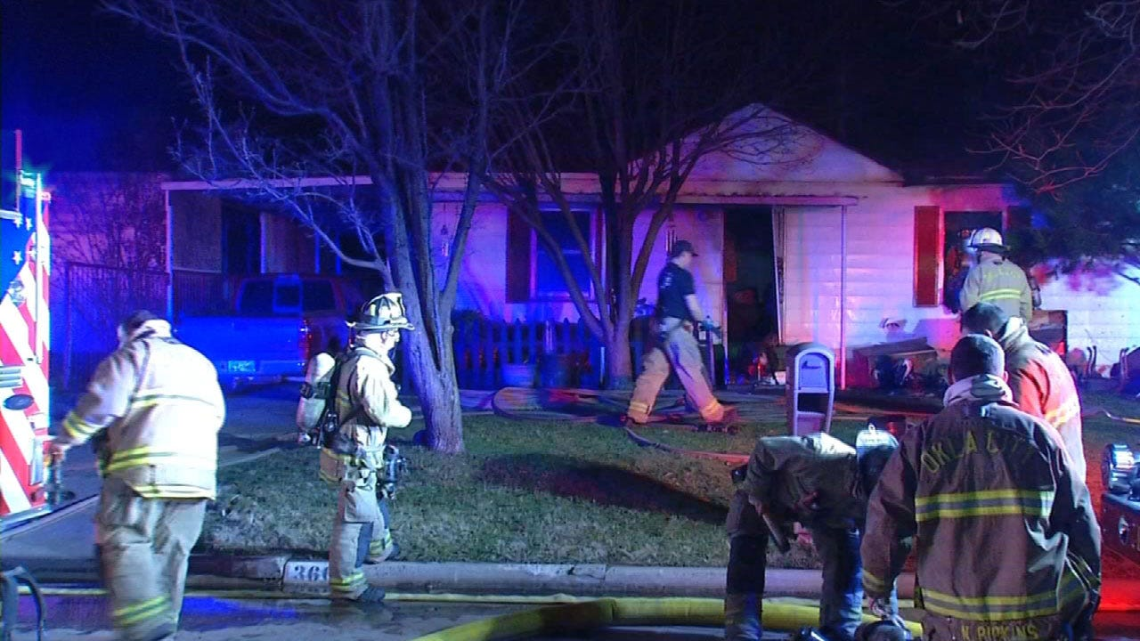 Crews Respond To House Fire In SW OKC