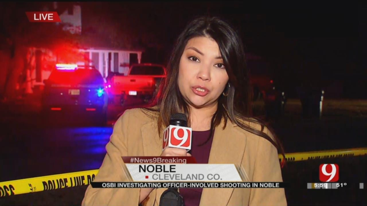 Officer-Involved Shooting Reported In Noble