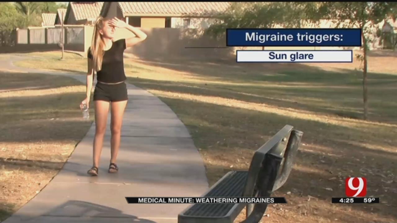 Medical Minute: Weathering Migraines