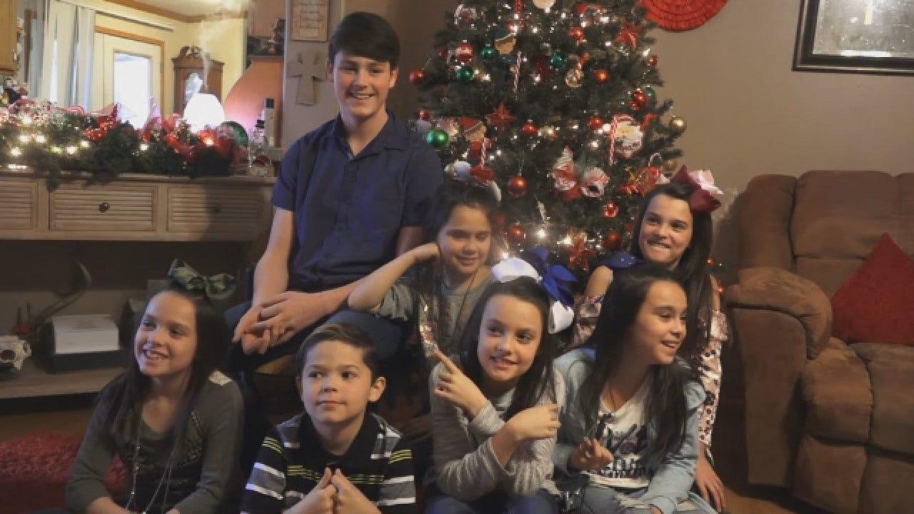 Couple Adopts Set Of 7 Siblings Ahead Of Christmas
