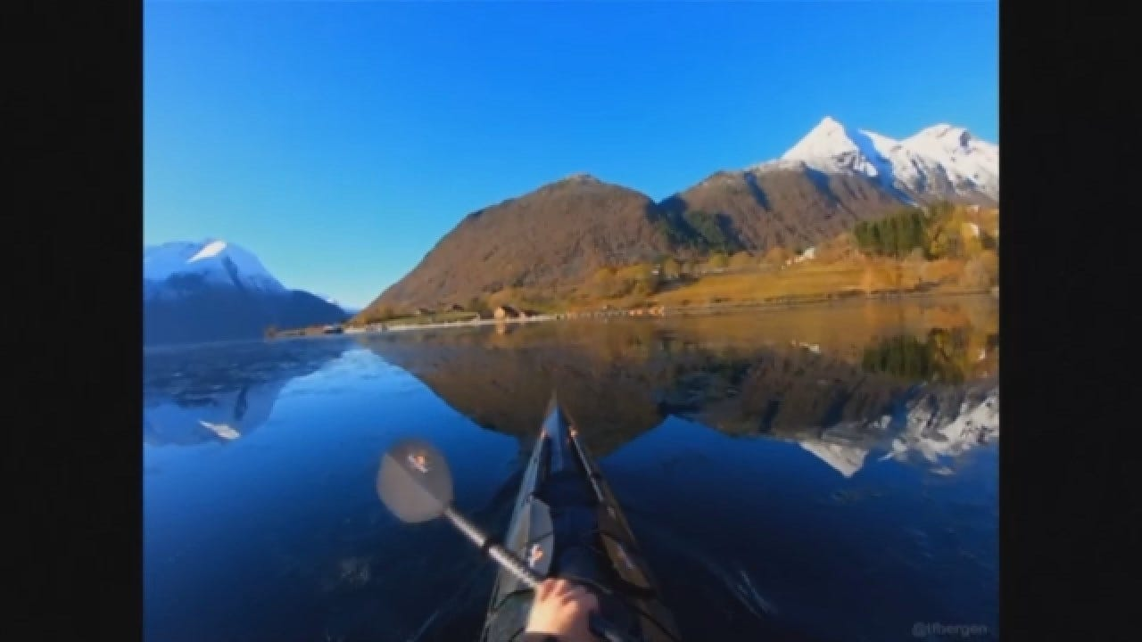 Amateur Photographer Takes Breathtaking Kayak Trip In Norway