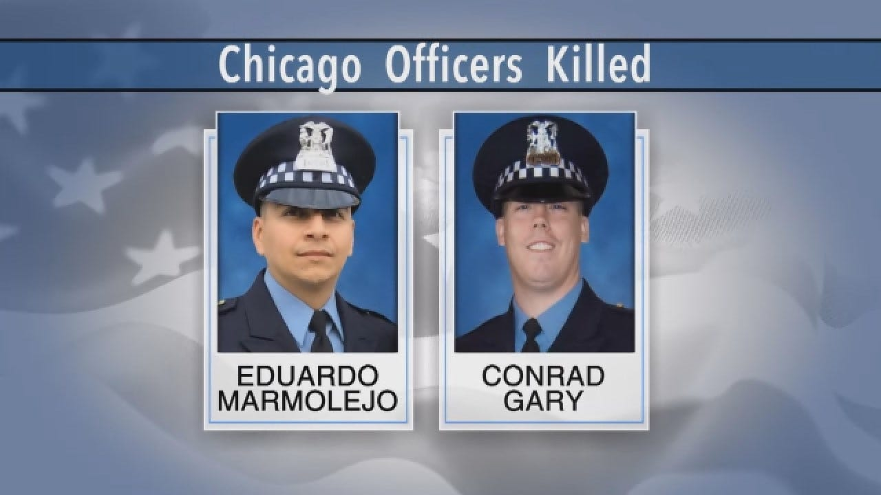 Two Chicago Officers Hit, Killed By Train