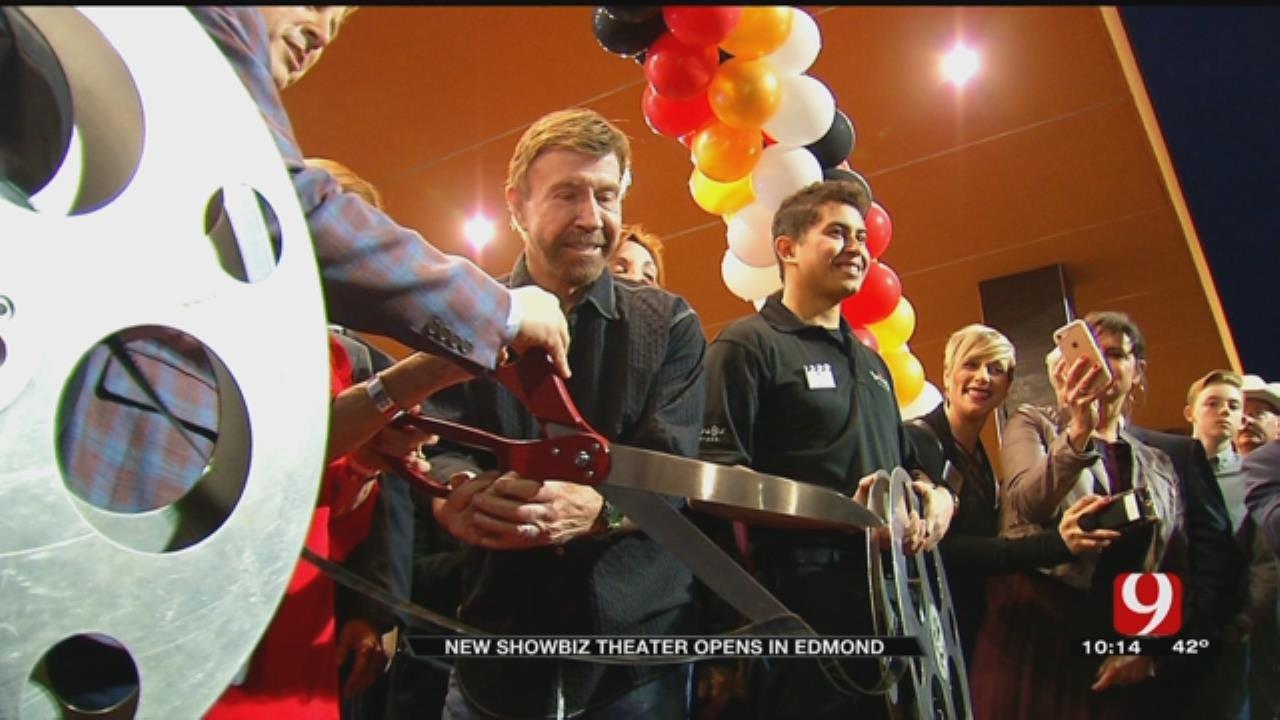 Chuck Norris Attends Grand Opening Of ShowBiz Cinema In Edmond