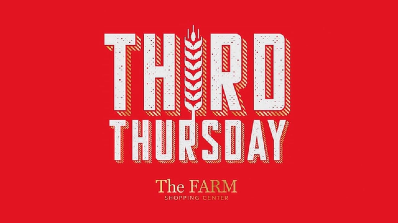 Farm Shopping Center: FARMTHIRDTHURS15 (36656)