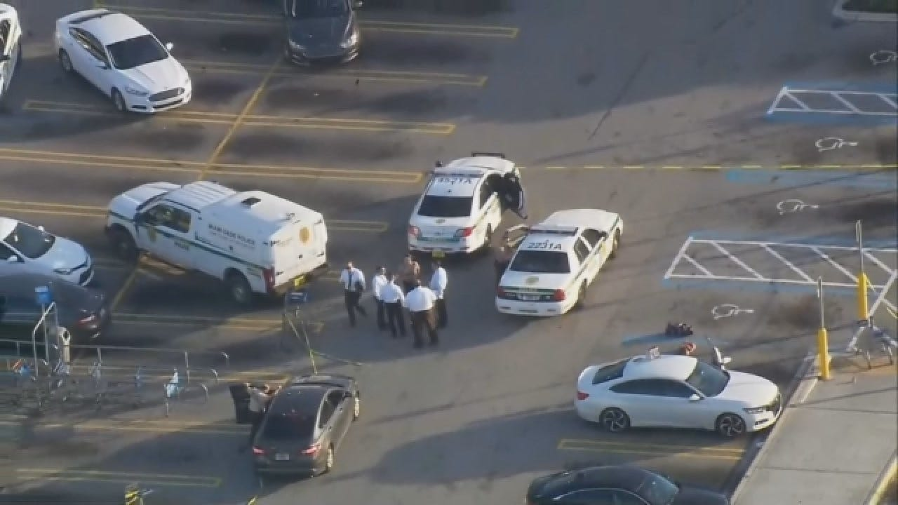 Body Found In Trunk Of Car In Walmart Parking Lot
