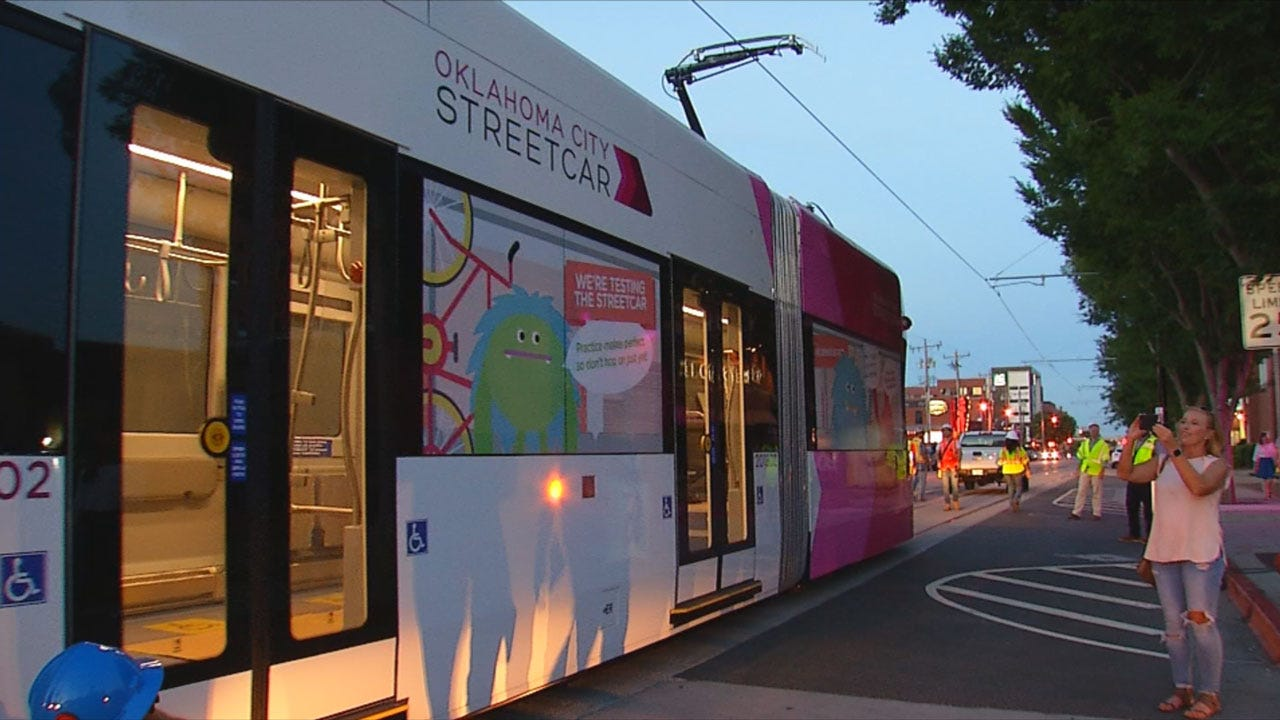 Official Streetcar Debut Friday In OKC