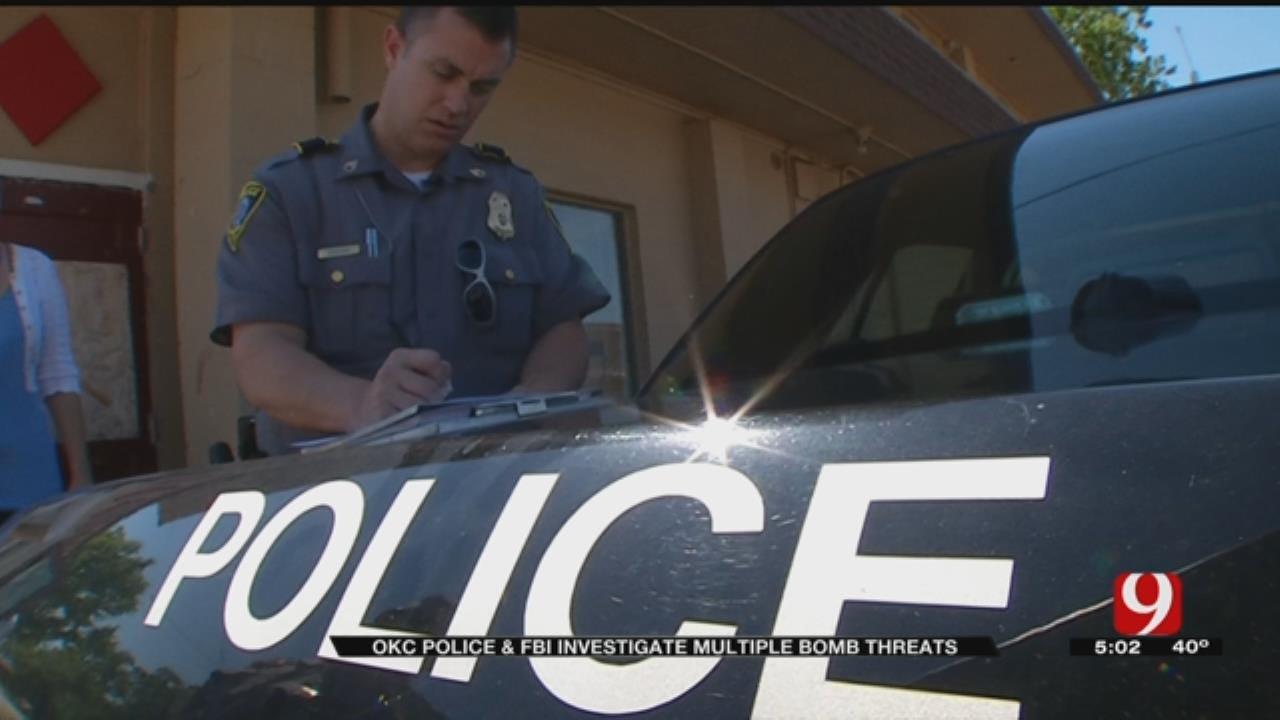 OKC Police, FBI Investigate Multiple Bomb Threats