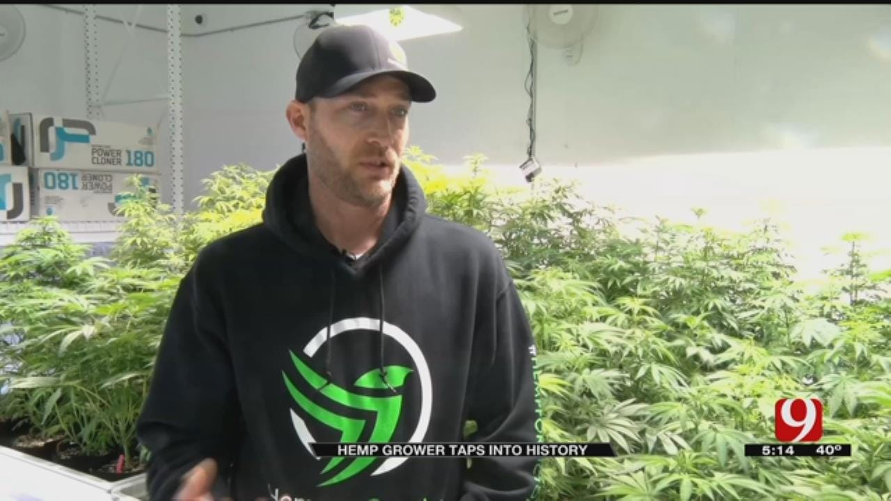 Hemp Grower Taps Into Oklahoma's History To Thrive In Today's Industry