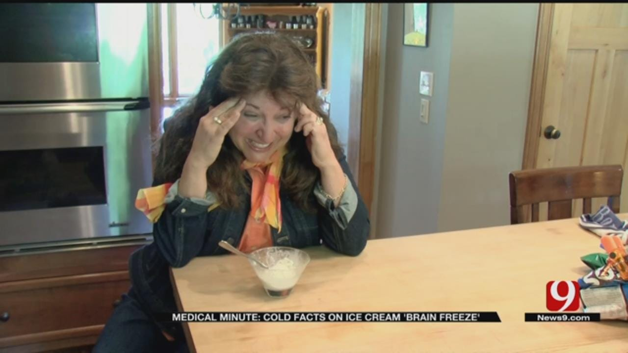 Medical Minute: Cold Facts On Ice Cream 'Brain Freeze'