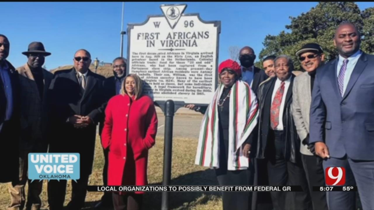 United Voice: U.S. Gov't Recognizes 400 Years Of African-Americans