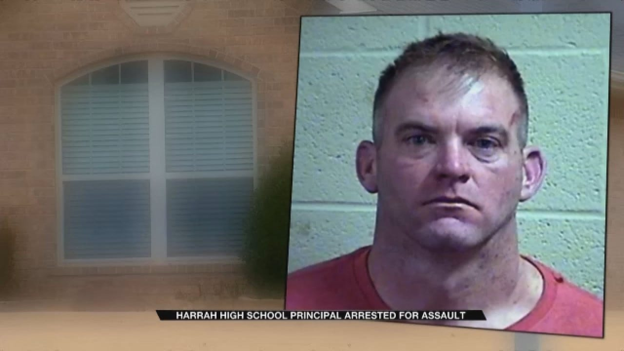 Harrah HS Principal Accused Of Assaulting Girlfriend, 2 Officers