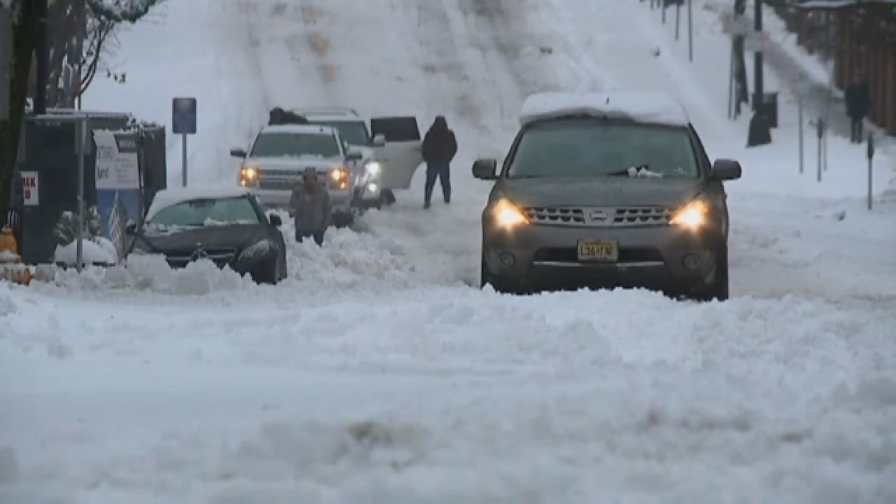 Virginia, North Carolina Battling Winter Weather