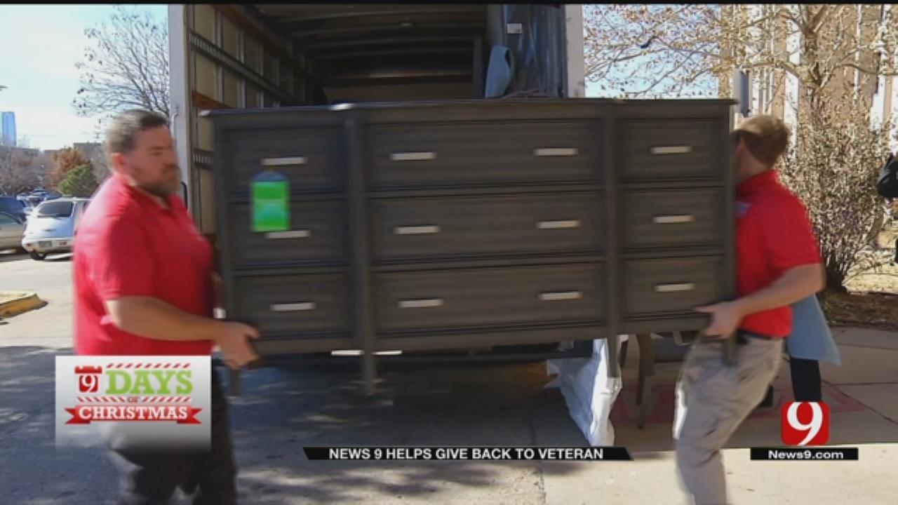9 Days of Christmas: Sunbeam Emergency Senior Shelter Recipient Gets New Furniture