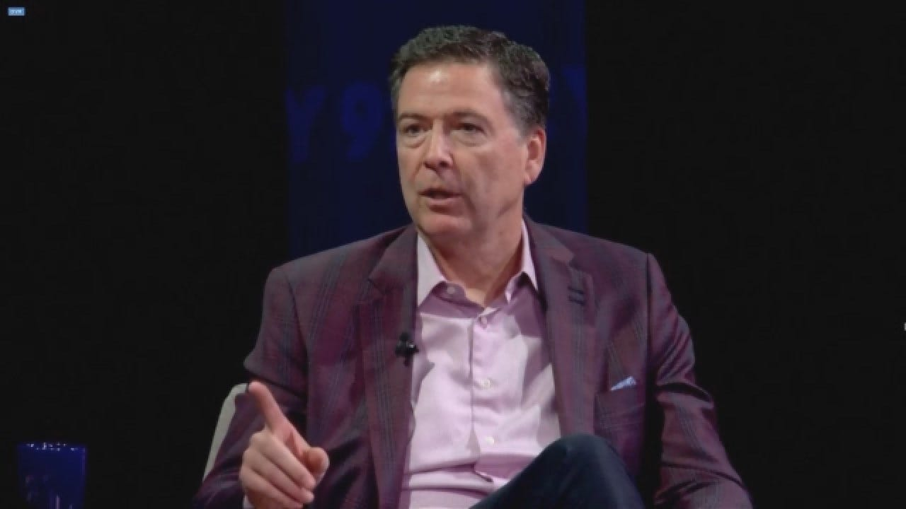 Comey Says Americans Should 'Use Every Breath We Have' To Get Rid Of Trump In 2020