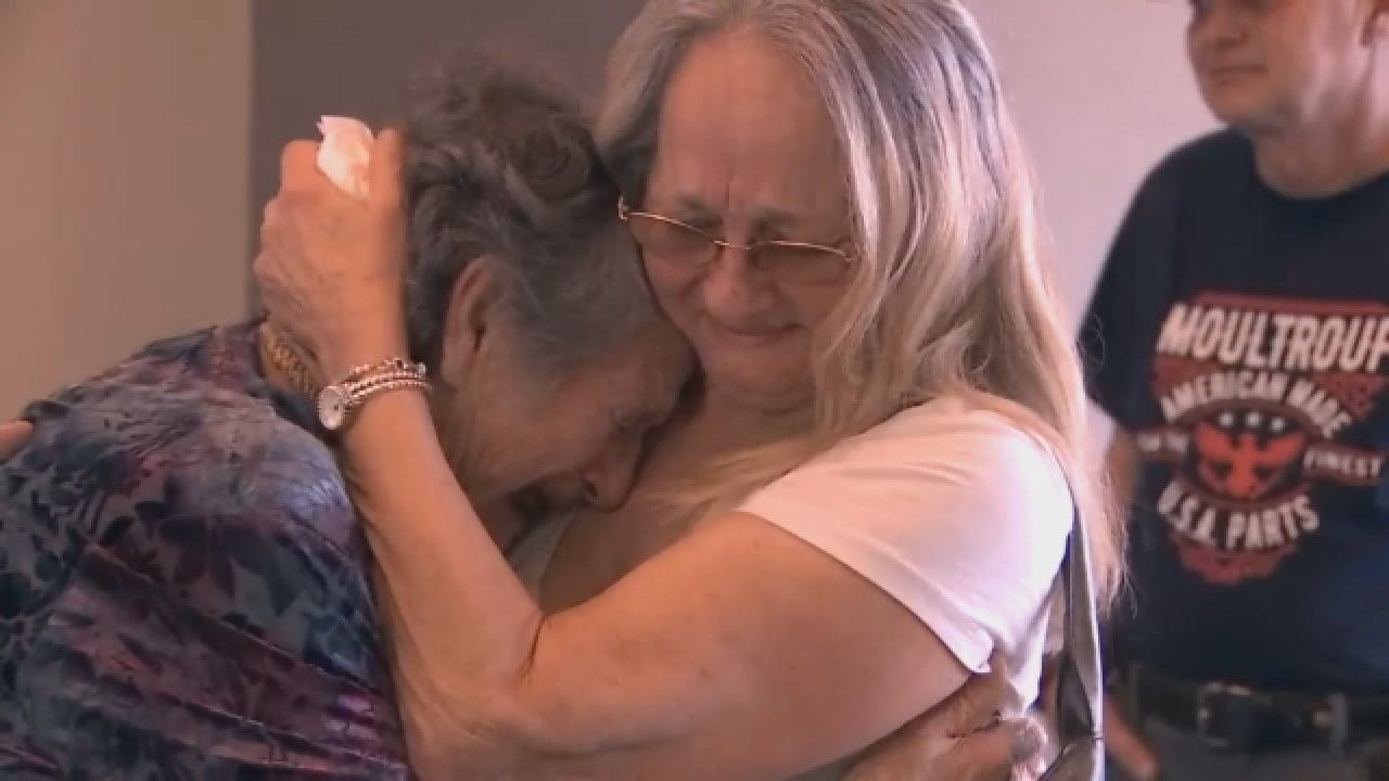 Mom, Daughter Reunited After 70 Years Apart